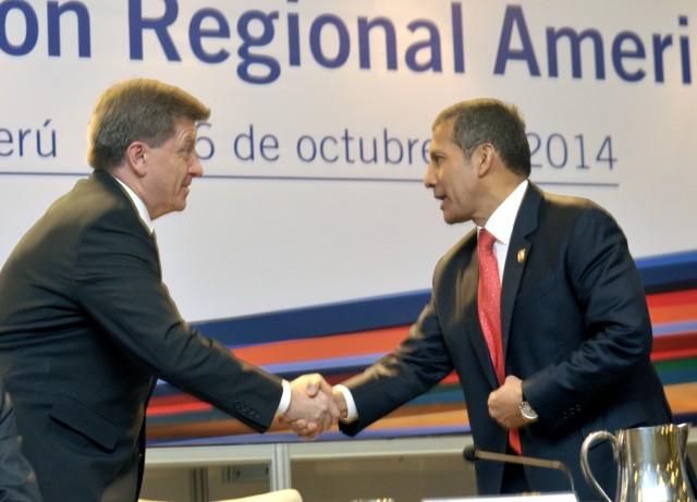 Inauguración de la Reunión Regional 2014